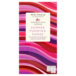 Waitrose Summer Pudding Fudge