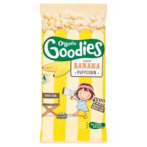 Organix Goodies Banana Puffcorn