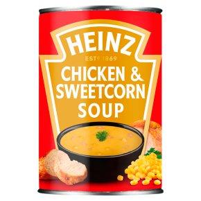 Heinz Classic chicken & sweetcorn soup