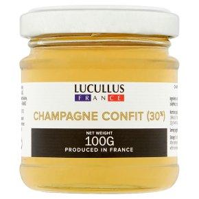 Lucullus Champagne Confit