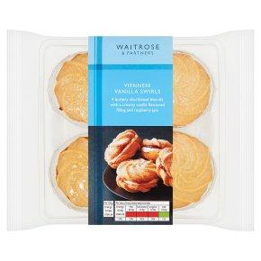 Waitrose Viennese vanilla swirls