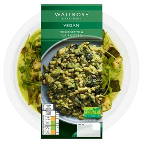 Waitrose Vegan Courgette & Pea Risotto