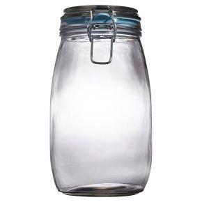 Waitrose Cooking 1.5L/3.25LB glass preserving jar
