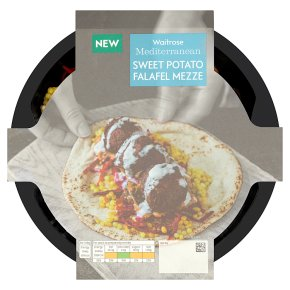 Waitrose Sweet Potato Falafel Mezze