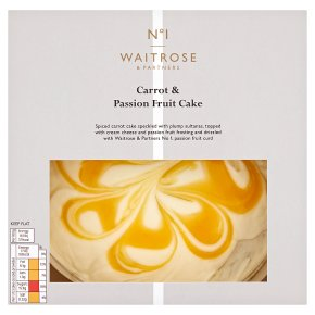 Waitrose 1 carrot cake