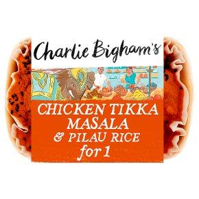 Charlie Bigham's Chicken Tikka Masala & Pilau Rice for 1