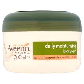 Aveeno Apricot & Honey Body Yogurt
