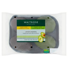 Waitrose 2 Perfectly Ripe & 2 Ripen at Home Avocados