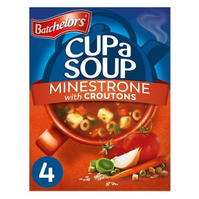 Batchelors 4 cup a soup minestrone