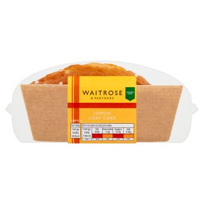 Waitrose Delicious & Zingy Lemon Loaf Cake