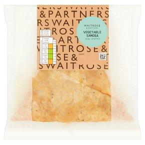 Waitrose Good To Go vegetable samosa
