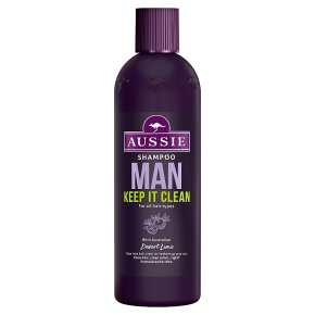 Aussie Man Shampoo Keep It Clean