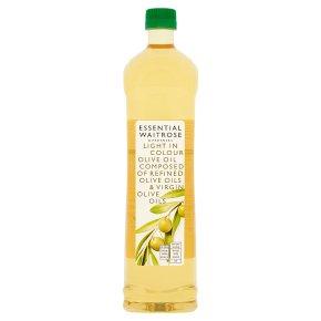 essential Waitrose Light in Colour Olive Oil