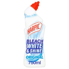 Harpic White and Shine Bleach Toilet Cleaner