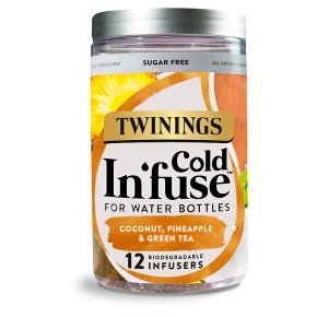 Twinings Cold In'fuse Coconut, Pineapple