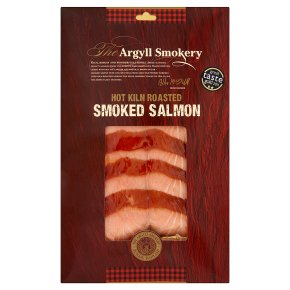 Argyll Smokery hot kiln-roasted salmon