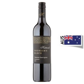 Katnook Founder's Block, Cabernet Sauvignon, Australian, Red Wine