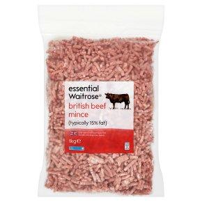 essential Waitrose British Beef Mince