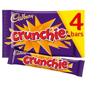 Cadbury Crunchie chocolate bar 4 pack
