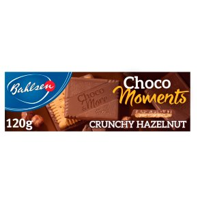 Bahlsen Choco Moments Crunchy Hazelnut Biscuits