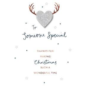Someone special christmas card waitrose partners someone special christmas card m4hsunfo