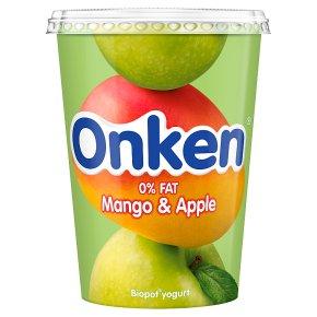 Onken fat free mango & apple yogurt