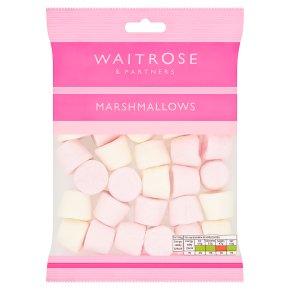 Waitrose pink & white marshmallows