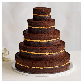 wedding cake sponge flavours chocolate 5 tier wedding cake chocolate sponge 5 25294
