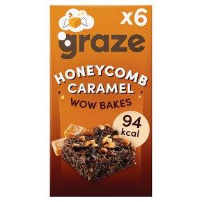 Graze Wow Bakes Honeycomb Crumble