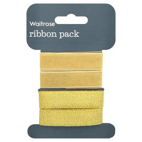 Waitrose gold ribbon pack