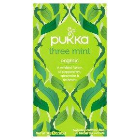 Pukka Three Mint 20s