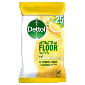 Dettol Floor Wipes Lemon & Lime