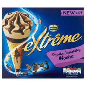 Extrême Mocha Ice Cream Cones