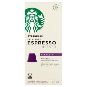 Starbucks Espresso Roast Capsules