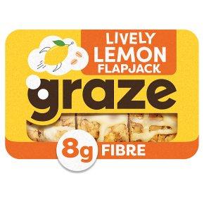 Graze Lemon Drizzle Flapjack