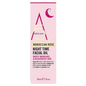 Argan+ 5 Moroccan Rose Night Time Oil