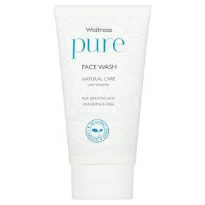 Waitrose Pure Natural Face Wash