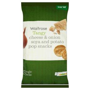 Waitrose Cheese & Onion Potato Pop Snacks