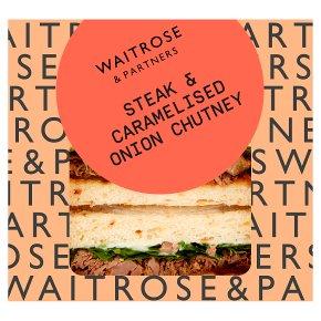Waitrose Good To Go steak & onion chutney sandwich