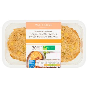 Waitrose Prawn & Sweet Potato Fishcakes