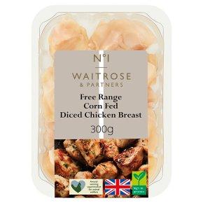 Waitrose 1 Free Range Chicken Breast Chunks
