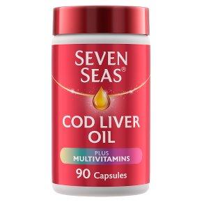 Seven Seas Cod Liver Oil & Multivitamins