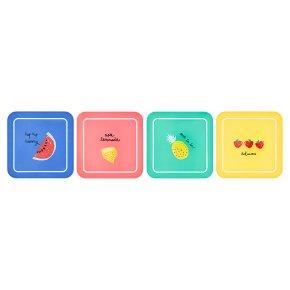 Waitrose Fruity Square Plates
