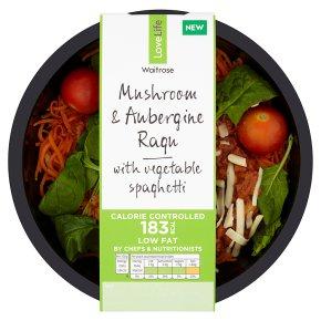 Waitrose LLCC Mushroom & Aubergine Ragu w