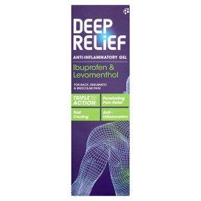 Deep relief dual action gel
