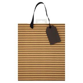 Waitrose Stripe Gift Bag