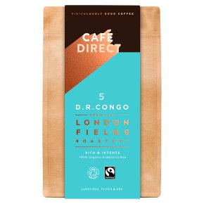 Cafédirect Fairtrade D. R. Congo Ground Coffee