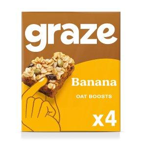 Graze Protein Bites Banana Oat Squares