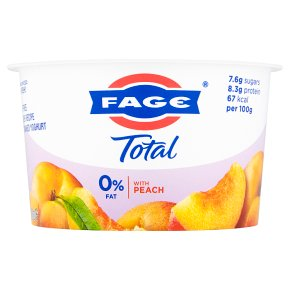 Fage Total 0% Fat with Peach