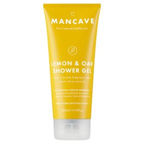 Man Cave Lemon & Oak Shower Gel